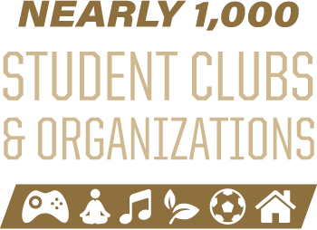 Nearly 1,000 student clubs and organizations