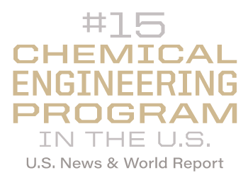 #15 Chemical Engineering program in the U.S.