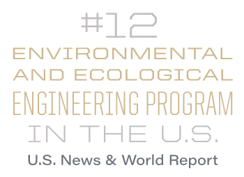 #12 Environmental and Ecological Engineering program in the U.S.