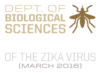 Dept. of Biological Sciences was the first in the world to map the structure of the Zika virus (March 2016)