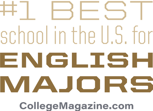 #1 best school in the U.S. for English majors