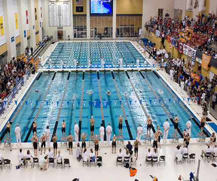 Purdue swimming competition